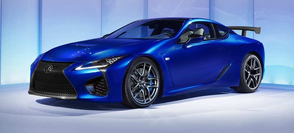 14 The 2019 Lexus Lc F Review