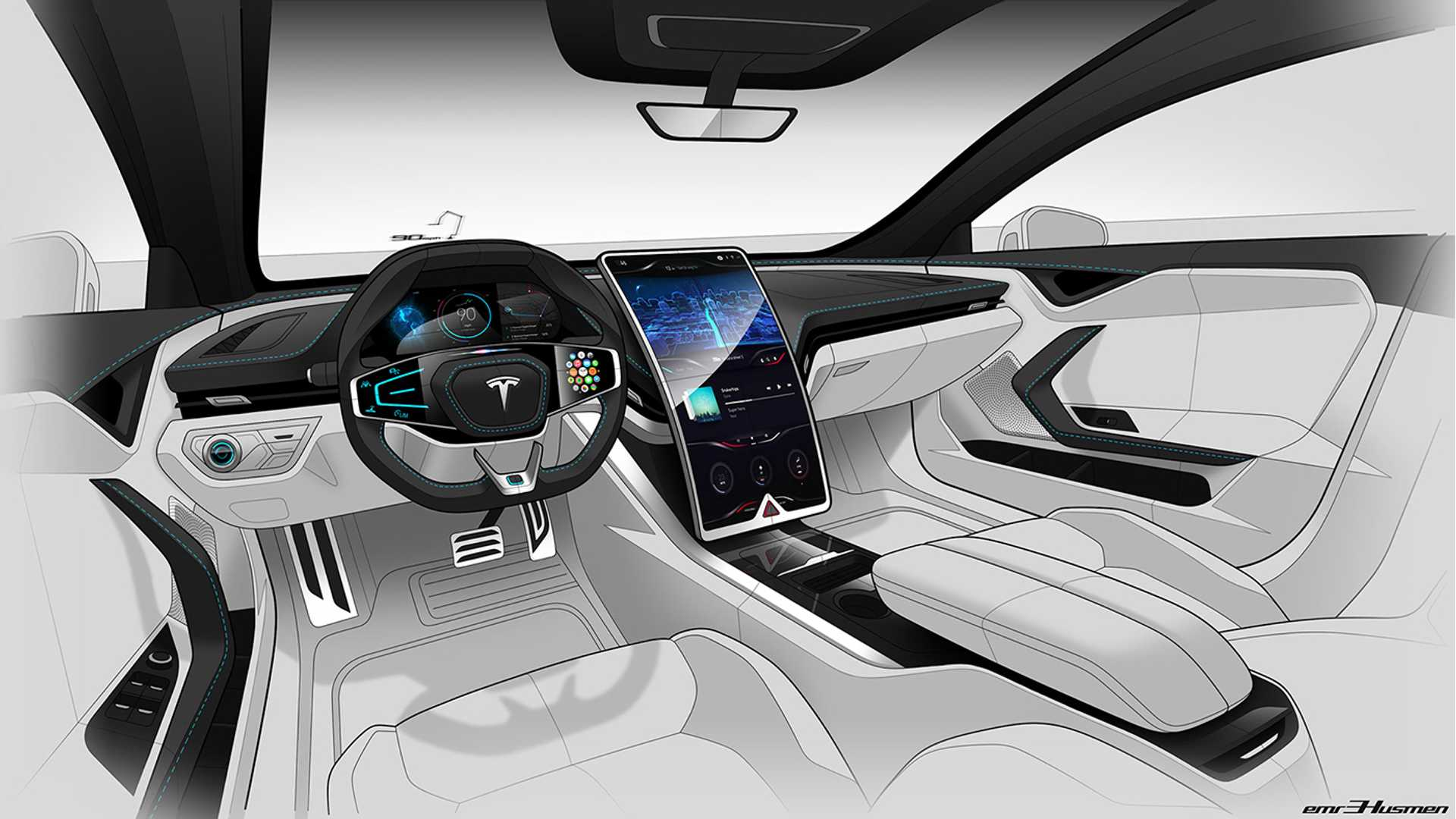 14 The 2019 Tesla Interior New Concept