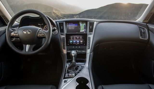 14 The 2020 Infiniti Q50 Interior First Drive