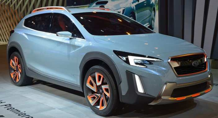 14 The Subaru Xv 2020 Spy Shoot