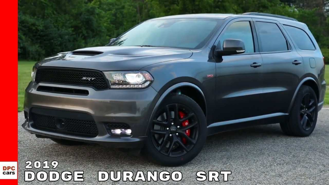 15 All New 2019 Dodge Durango Srt Release Date Rumors