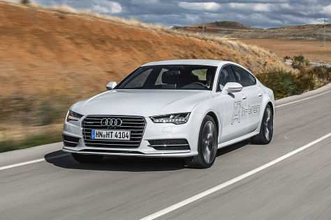 15 The Audi Brennstoffzelle 2020 First Drive