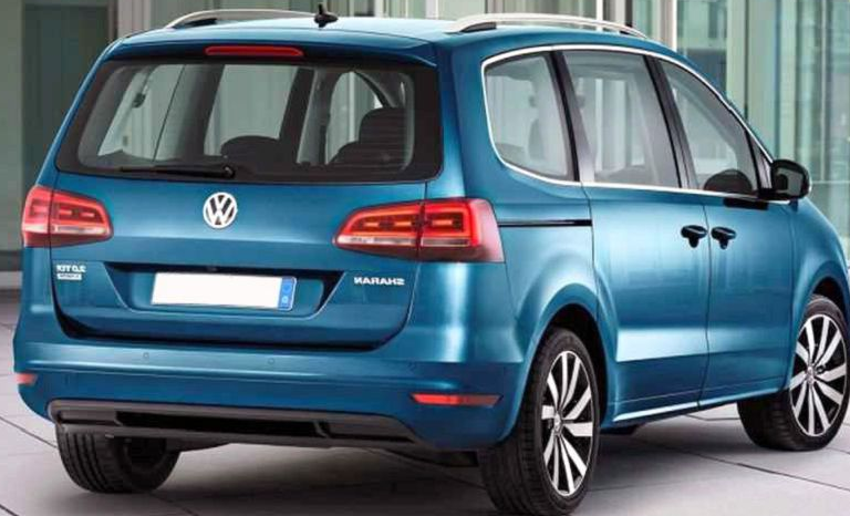 16 A Volkswagen Sharan 2020 Wallpaper