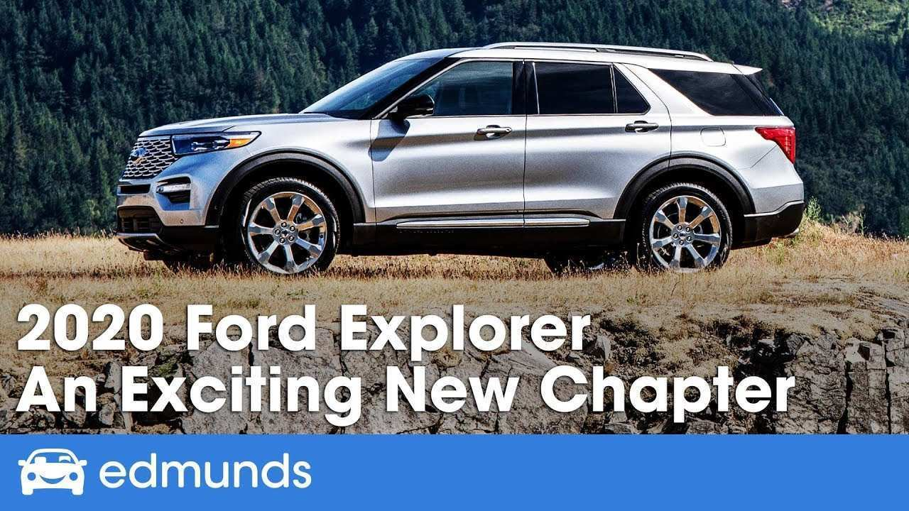 16 New 2020 Ford Explorer Youtube Spesification