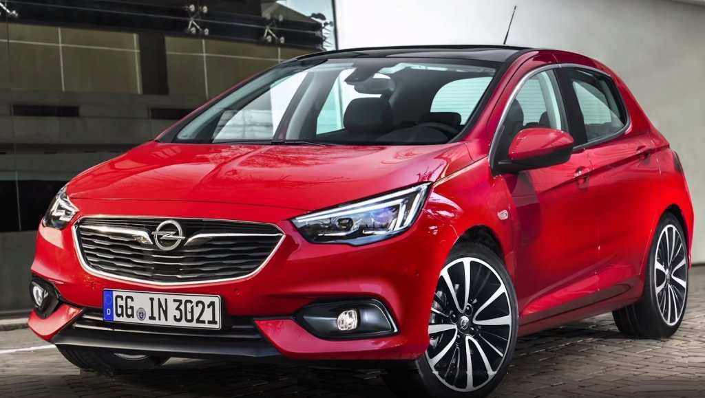 16 New Opel Corsa 2020 Rendering Picture