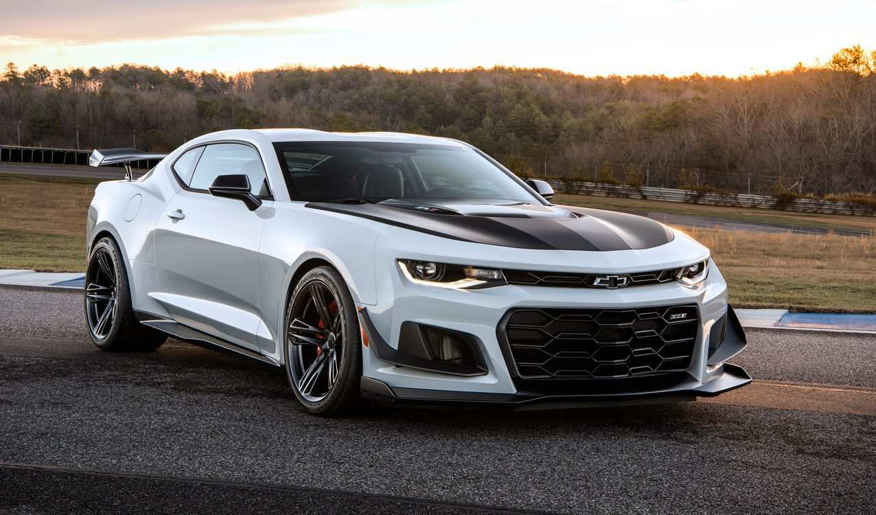 16 The Best 2020 Chevrolet Camaro Zl1 Redesign And Concept