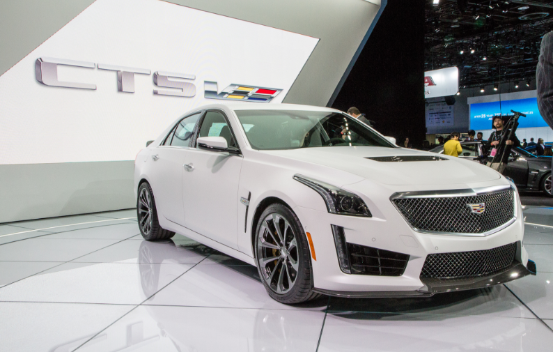 16 The Cadillac Cts V 2020 Performance