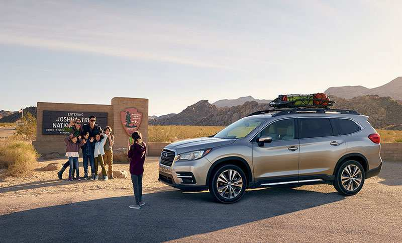 17 A 2019 Subaru Ascent Exterior And Interior