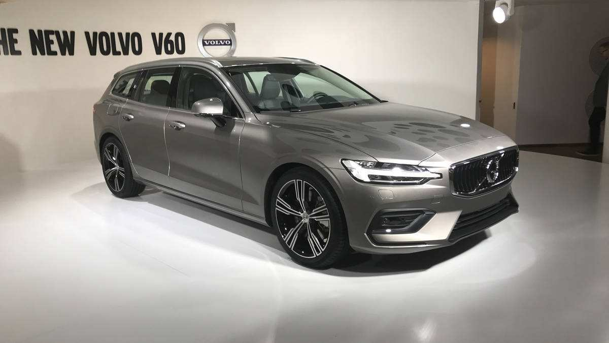 17 A New 2019 Volvo V60 Concept And Review