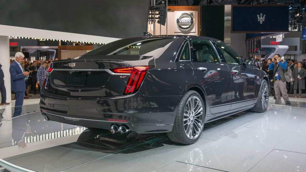 18 A 2019 Cadillac Twin Turbo V8 Price Design And Review