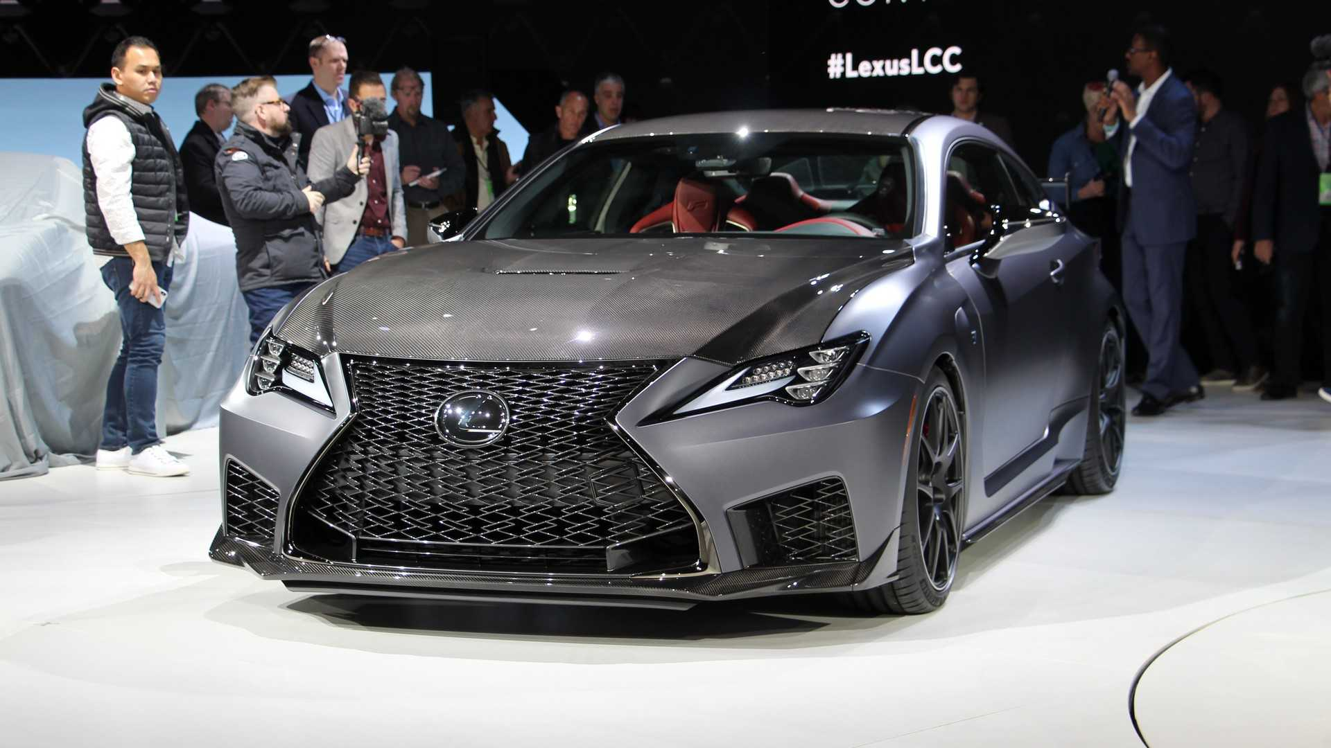 18 All New 2020 Lexus Rc F Track Edition Configurations