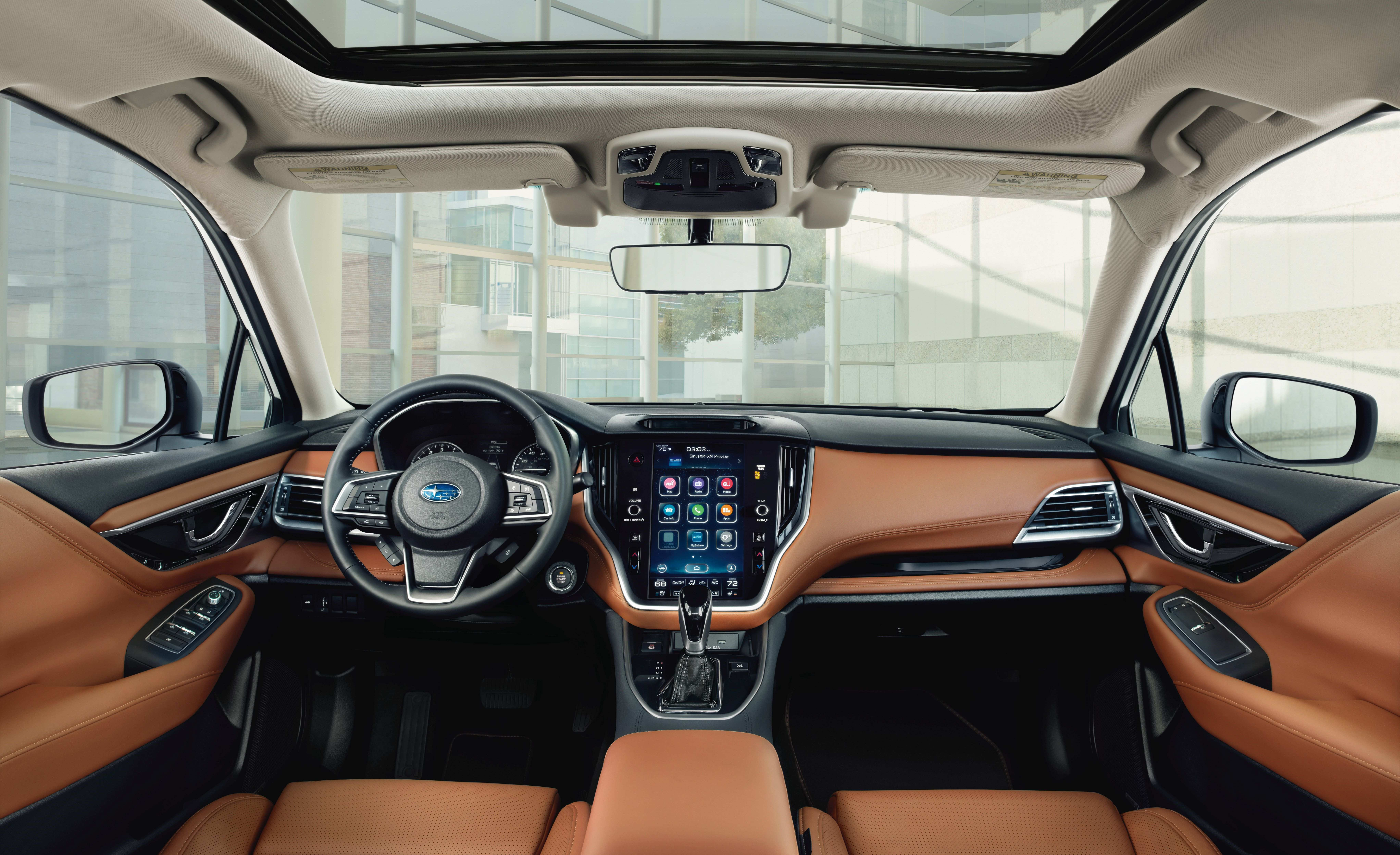 18 The Subaru Prominence 2020 2 Interior