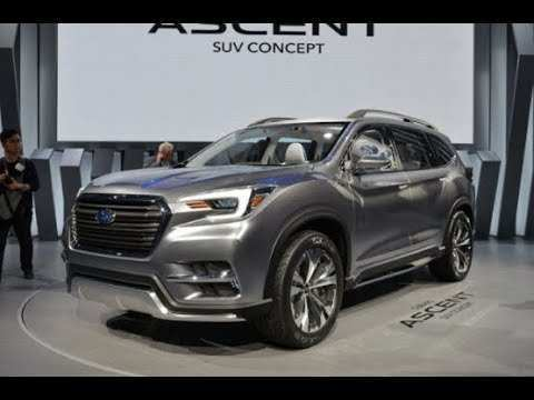 19 A Subaru Ascent 2020 Performance And New Engine