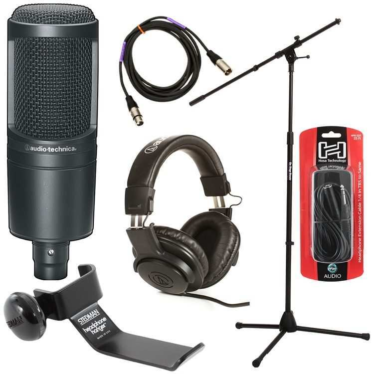 19 All New Audio Technica At2020 Model