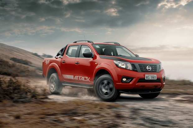 19 New 2019 Nissan Frontier Attack Spy Shoot