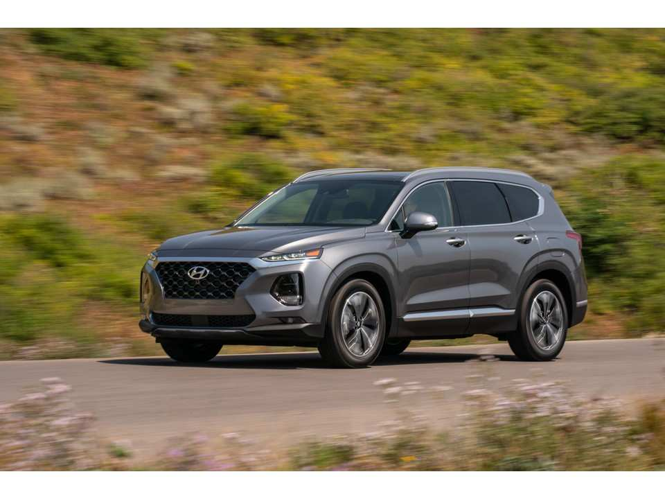 19 The Hyundai Grand Santa Fe 2020 Release