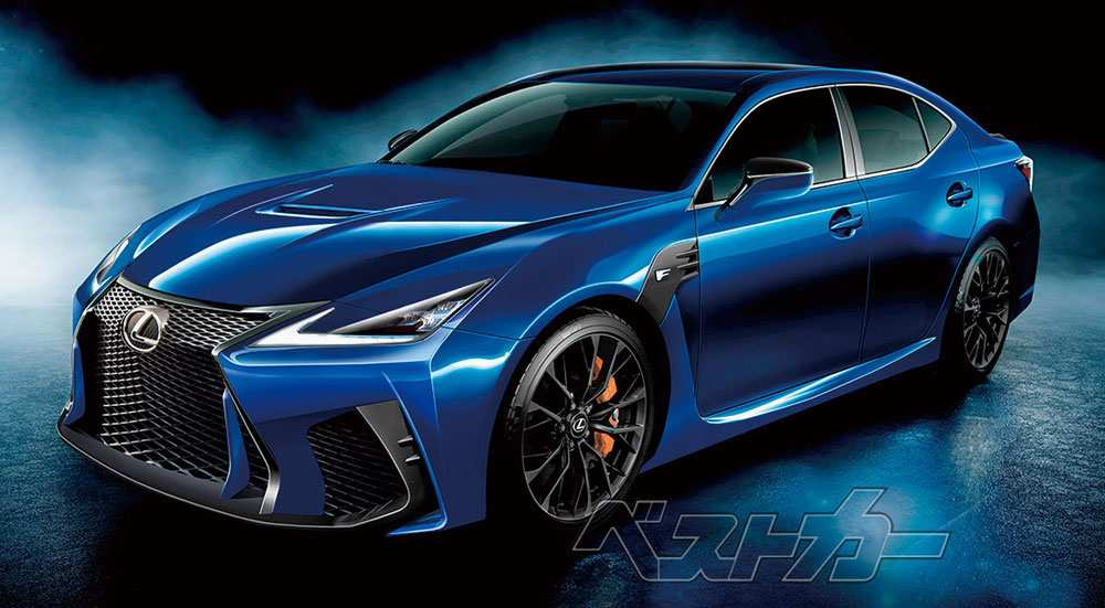 20 A Lexus Gs F 2020 Spesification