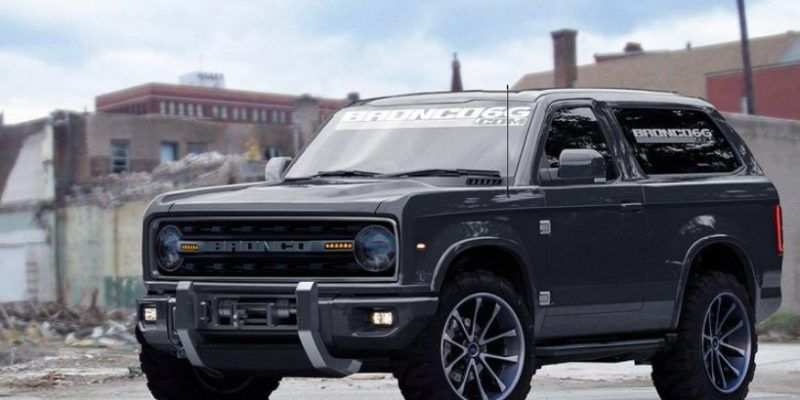 20 All New 2019 Dodge Bronco Images