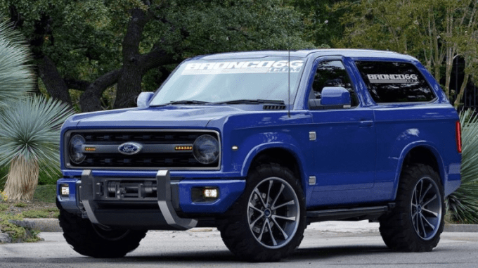 20 The Best 2020 Ford Bronco Interior Images