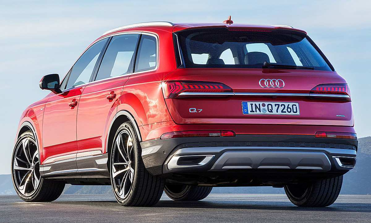 21 A 2019 Audi Q7 Facelift Redesign And Review