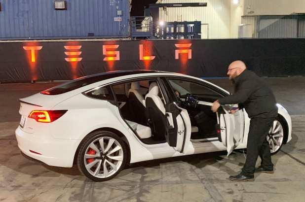 21 A 2019 Tesla Model Y Exterior And Interior