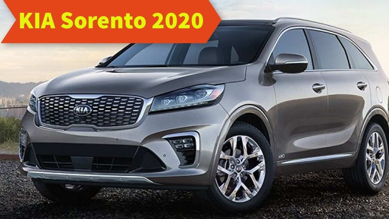 21 All New Kia Sorento 2020 Redesign Concept And Review