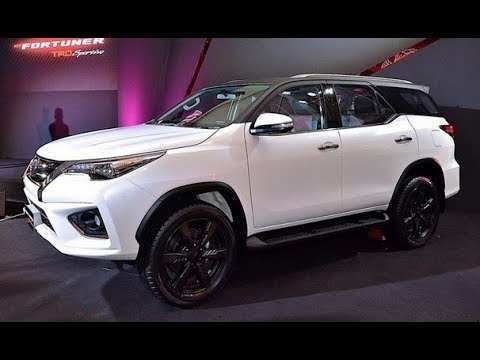 21 New Toyota Fortuner 2020 Spy Shoot