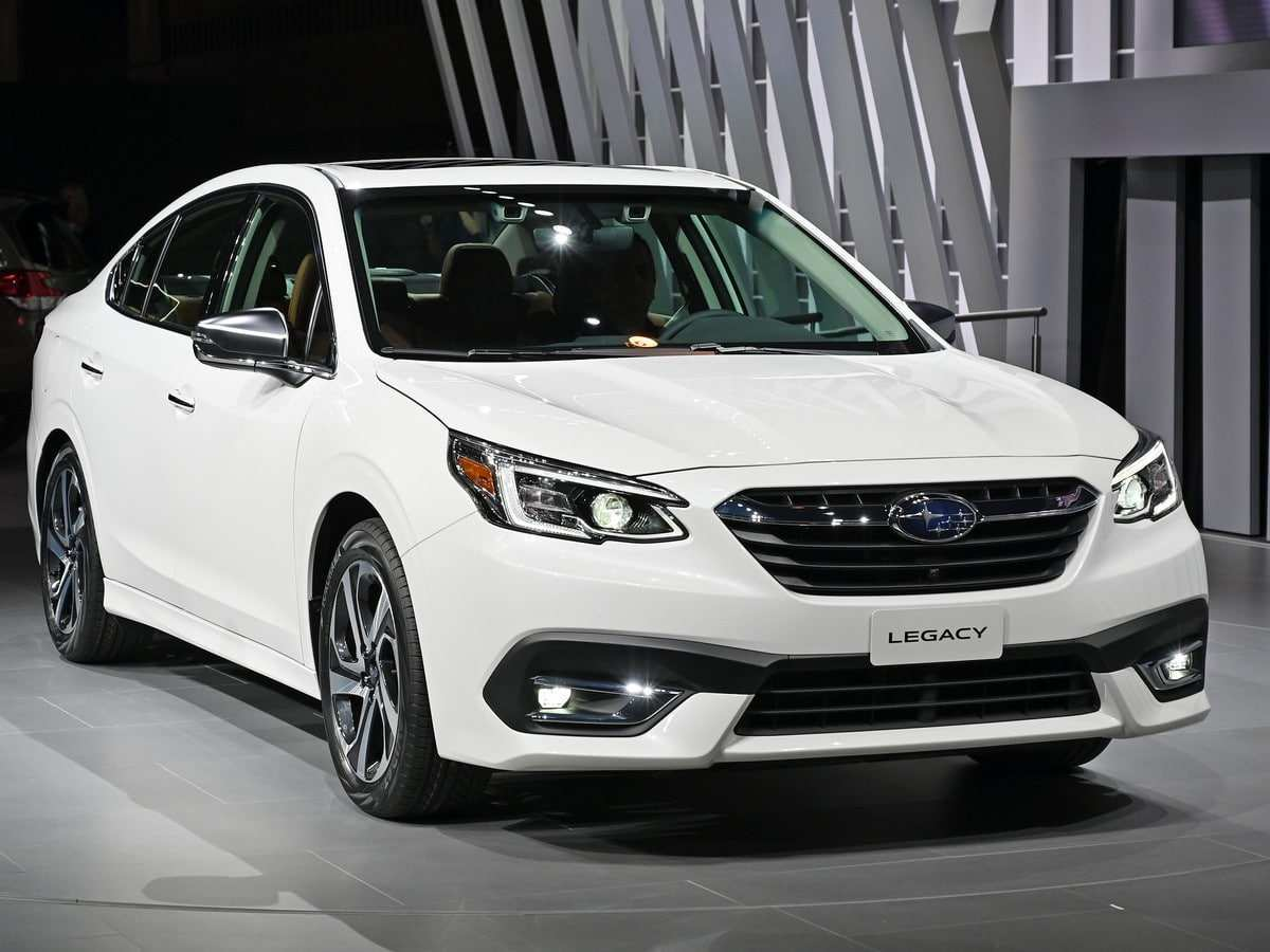 21 The Subaru Legacy 2020 Redesign Spy Shoot