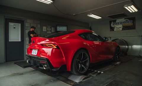 22 All New Toyota Supra 2020 Engine Pictures