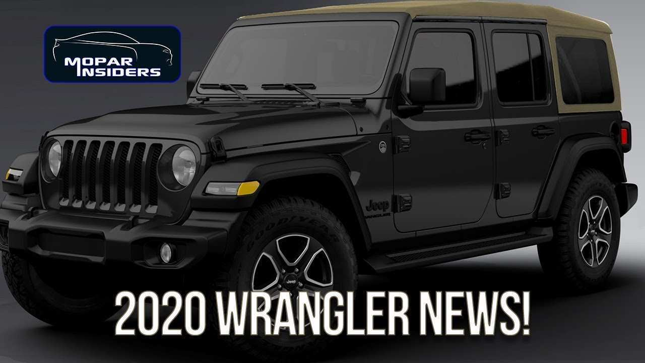22 The Best 2020 Jeep Jl Rumors Performance