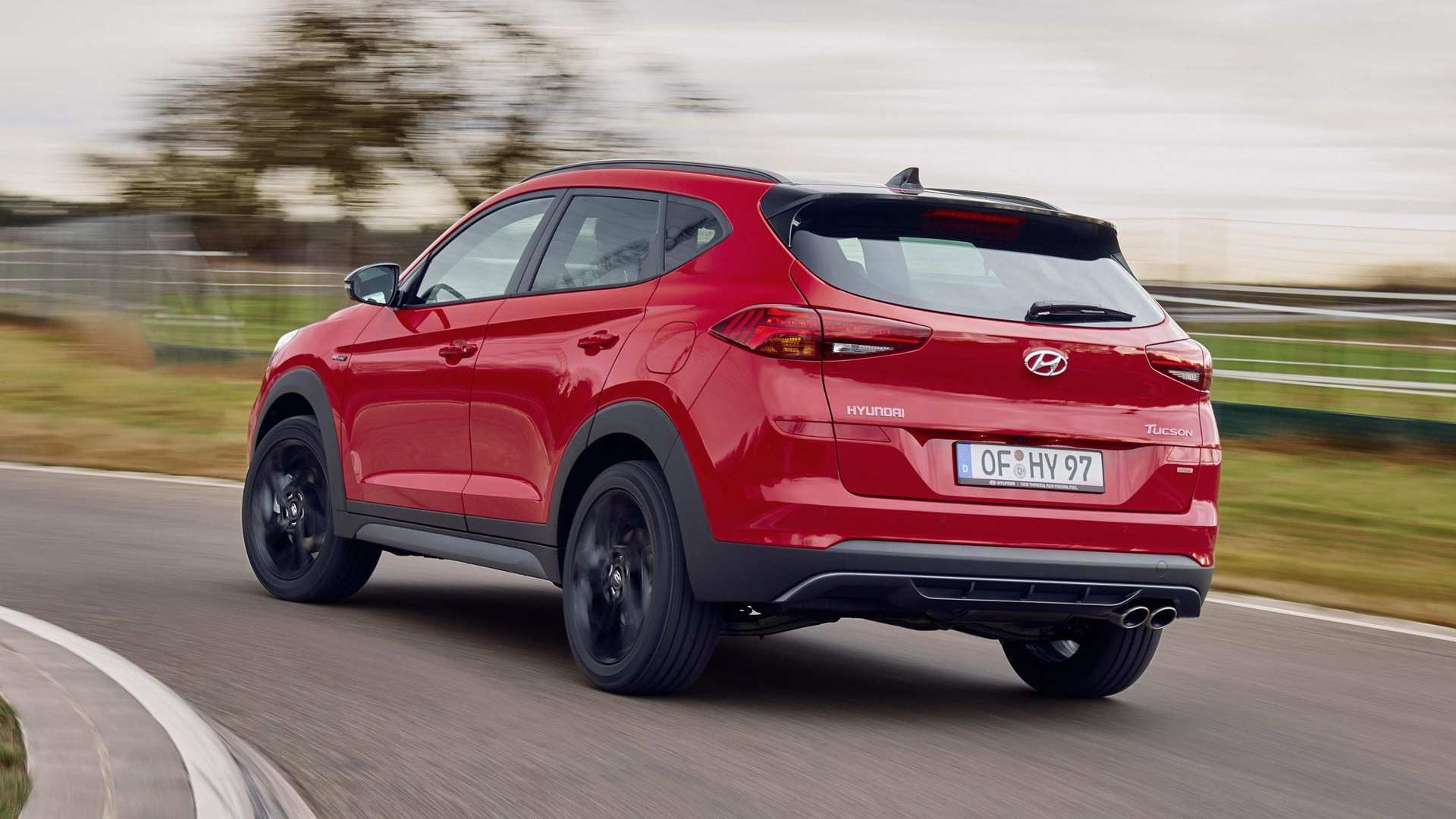 22 The Hyundai Tucson N Line 2020 Speed Test