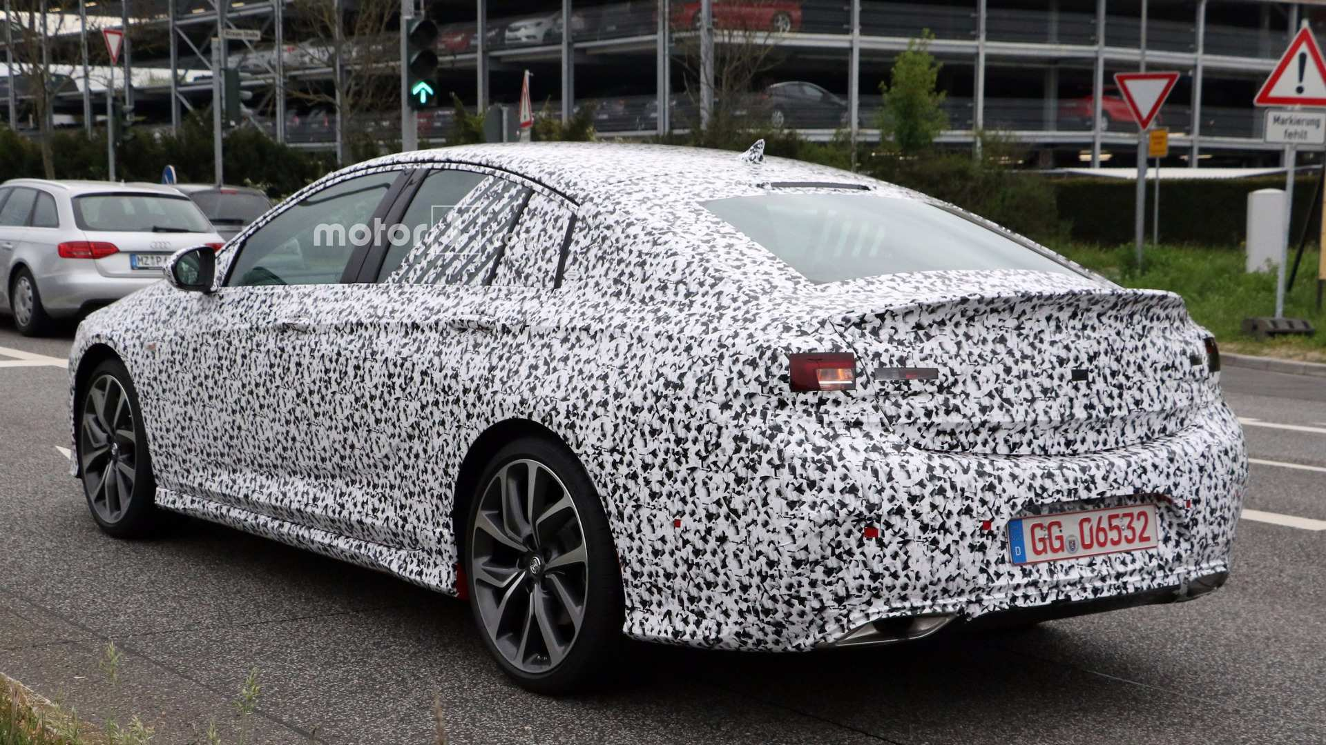 22 The Opel Insignia Opc 2020 Engine