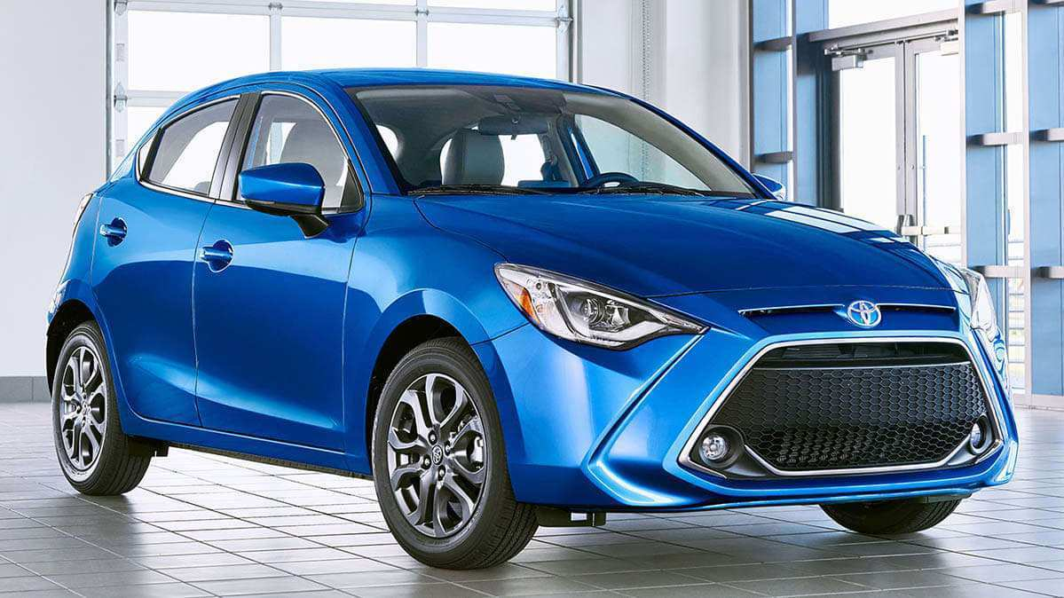 23 All New 2020 Toyota Yaris Hatchback Interior