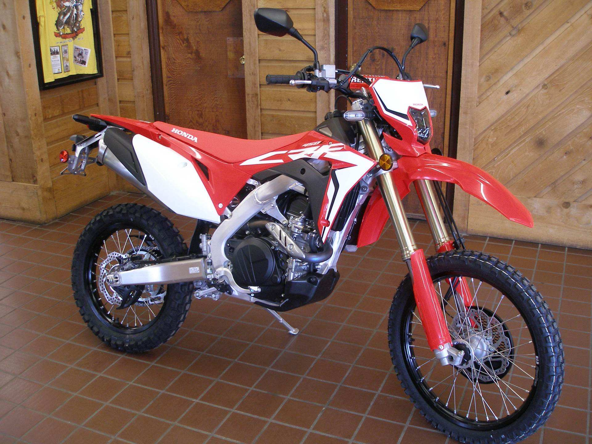 24 A 2019 Honda Crf450L Concept And Review