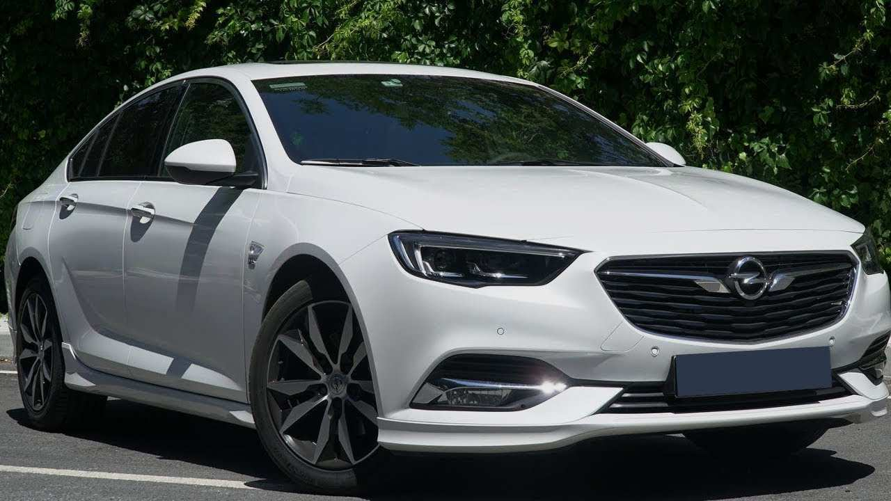 24 New Yeni Opel Insignia 2020 Overview