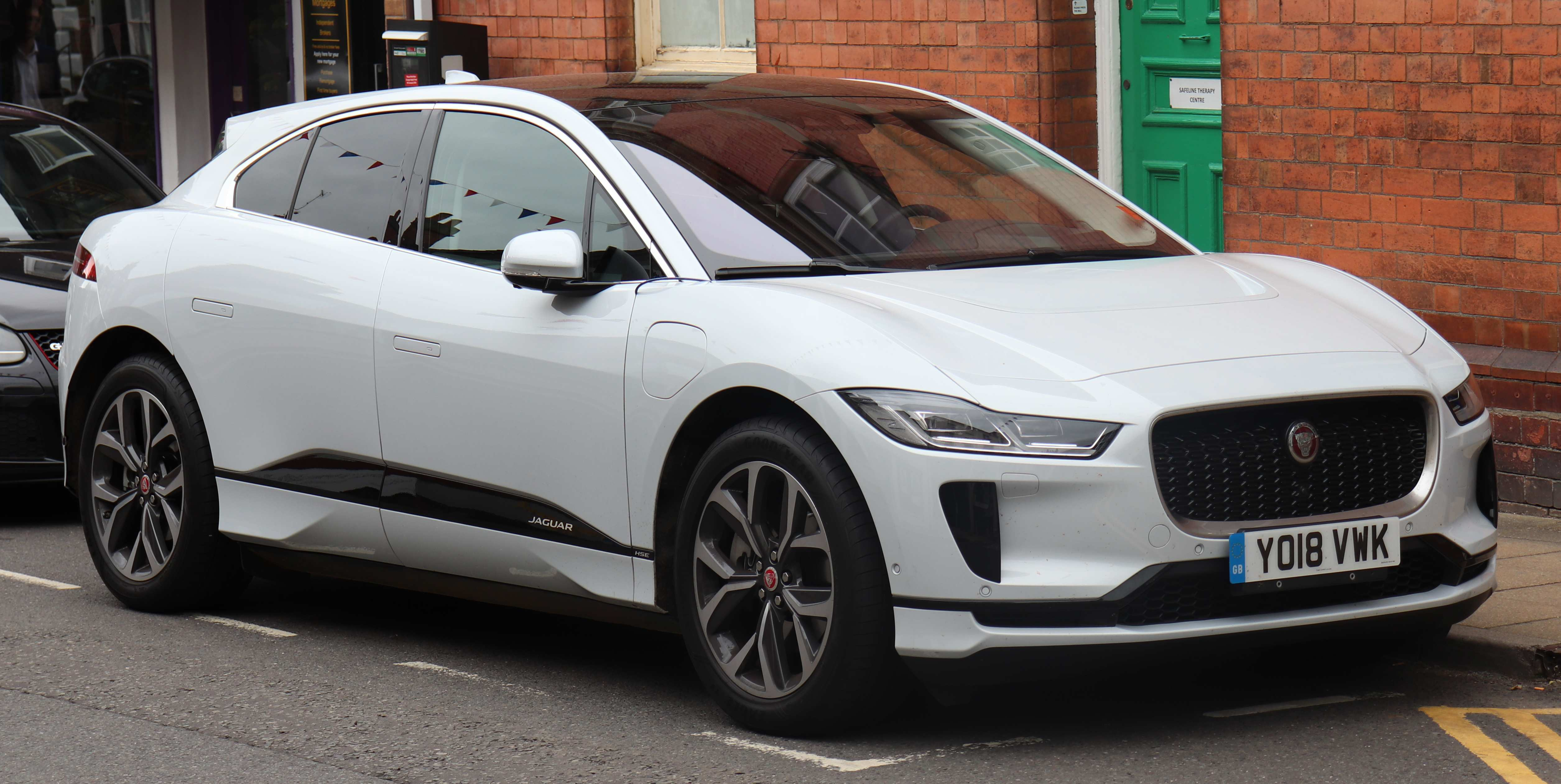 24 The Jaguar I Pace 2020 Model 2 Engine