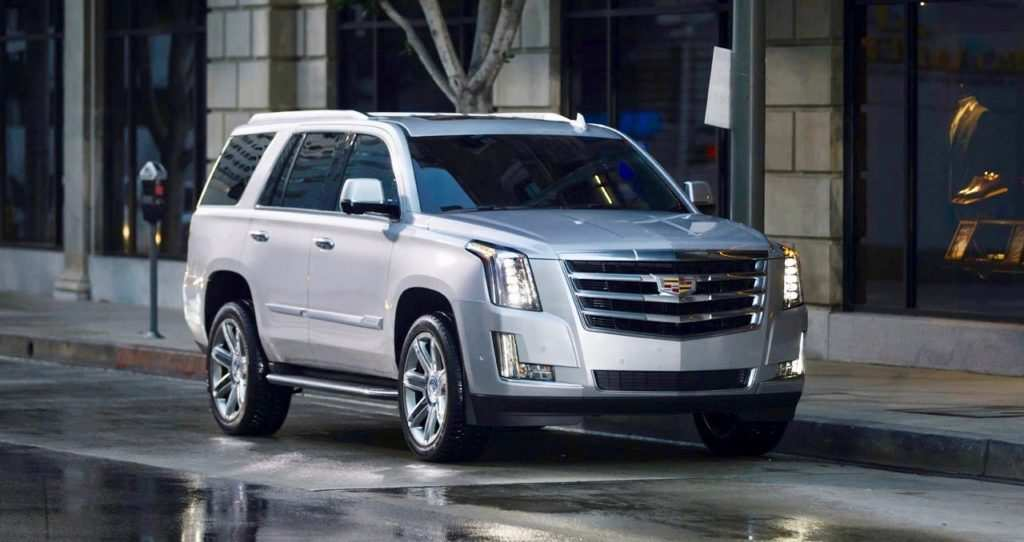 25 A 2019 Cadillac Escalade Redesign Overview