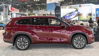 25 A 2020 Toyota Highlander Hybrid Spesification