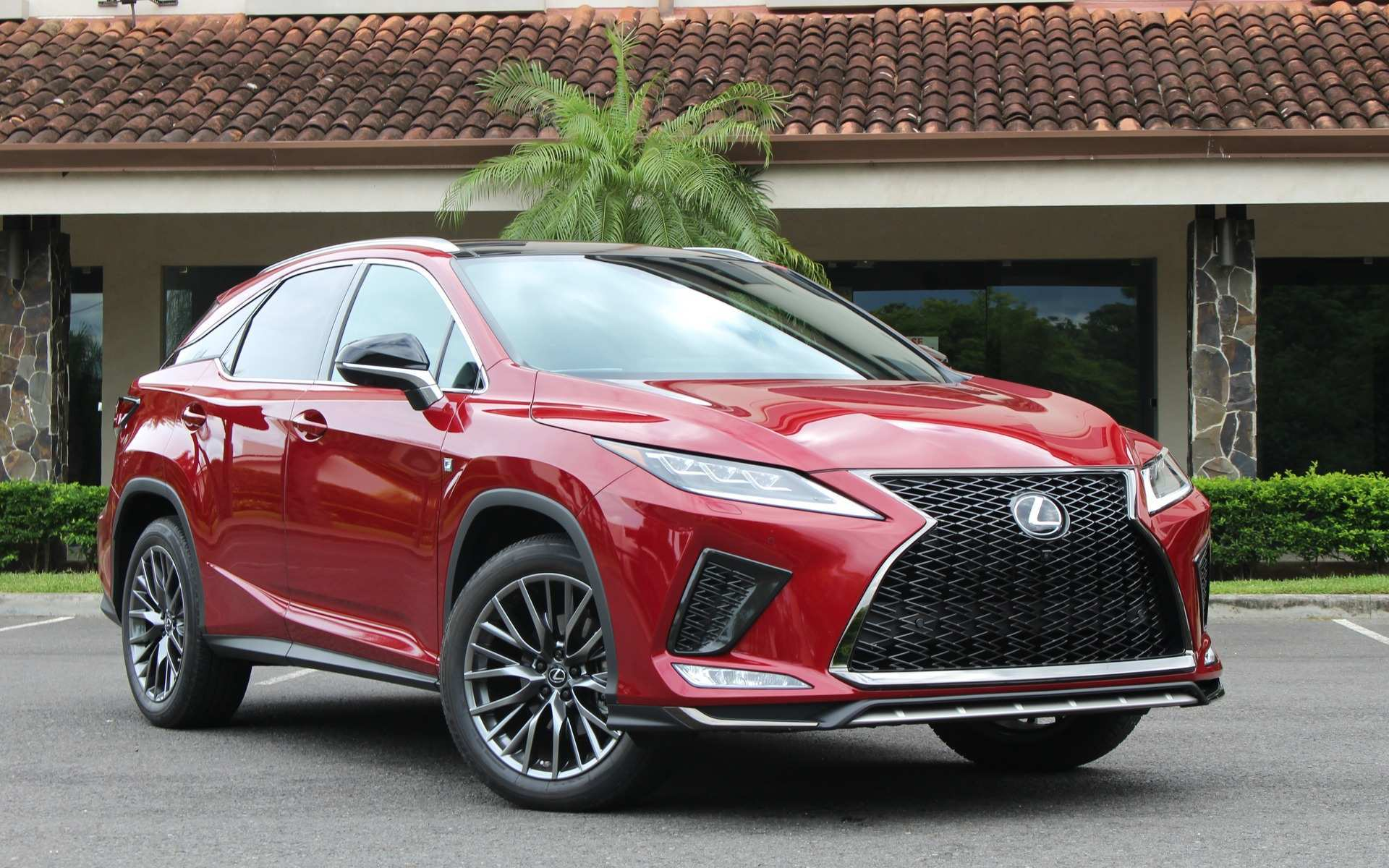 25 The 2020 Lexus Rx Photos