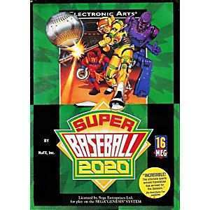25 The Super Baseball 2020 Sega Genesis Release Date