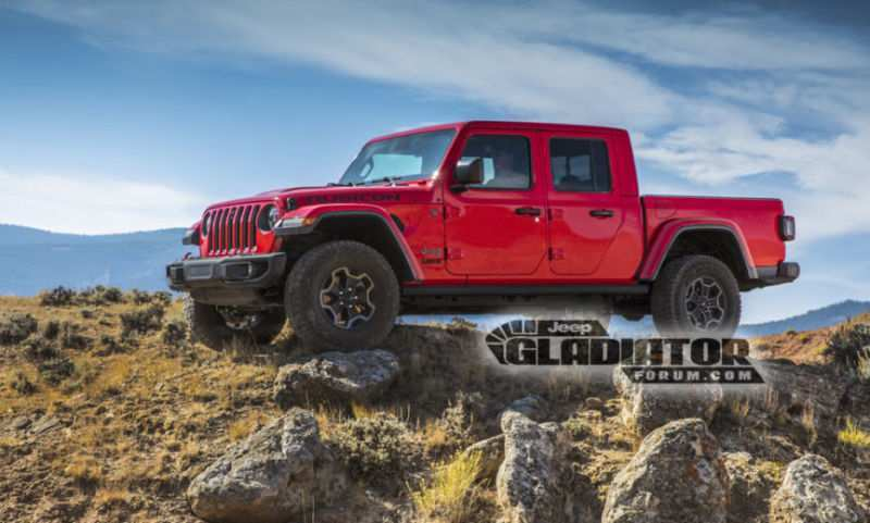 26 All New Jeep Pickup Truck 2020 Model