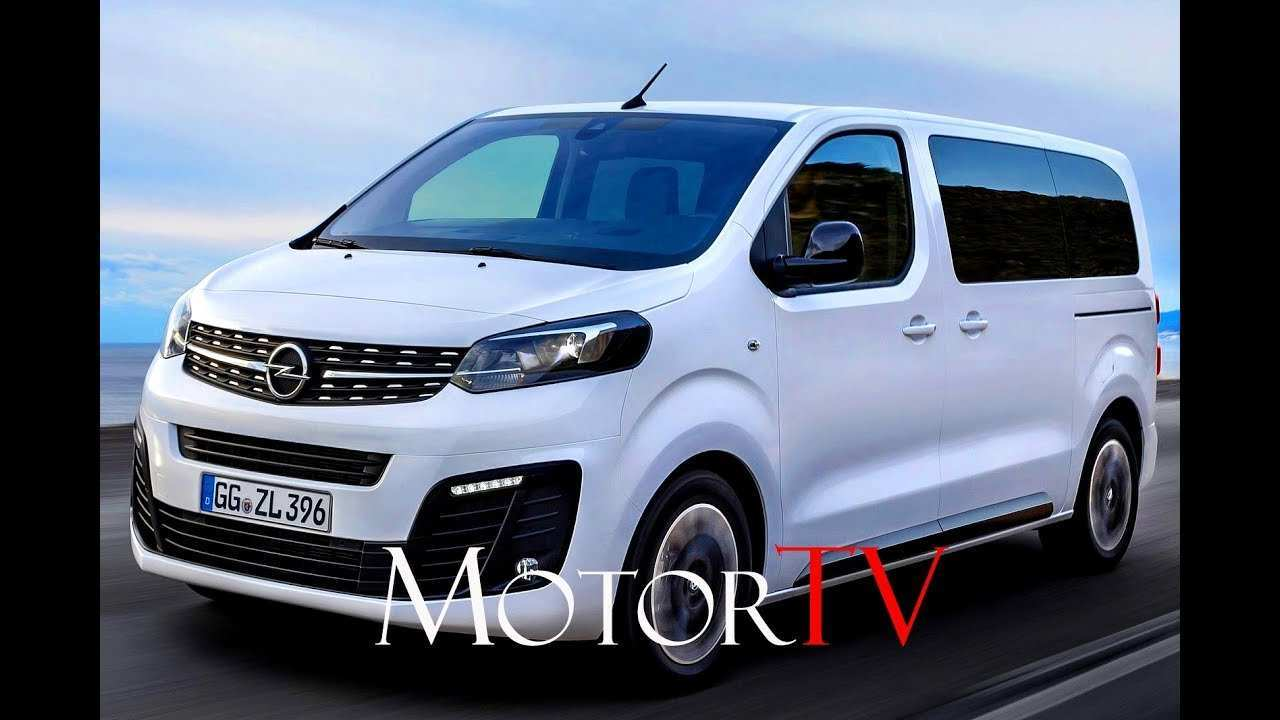 26 All New Opel Zafira 2020 Overview