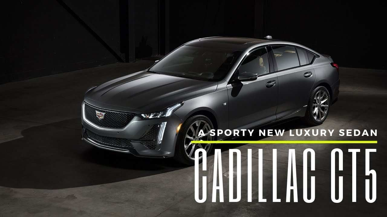 26 All New Youtube 2020 Cadillac Ct5 Images