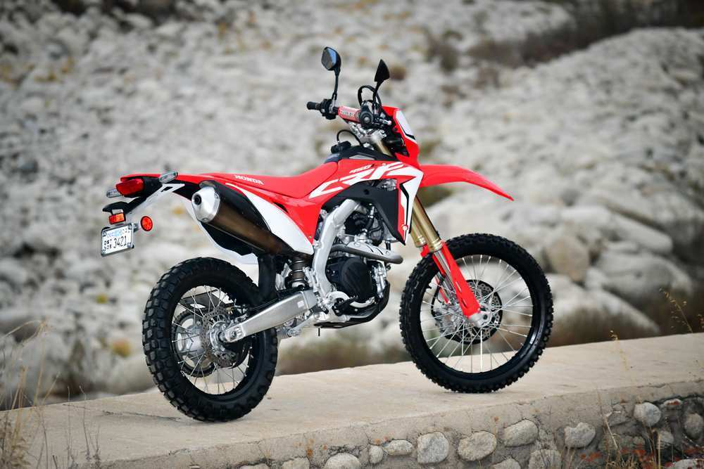 27 A 2019 Honda Crf450L New Review