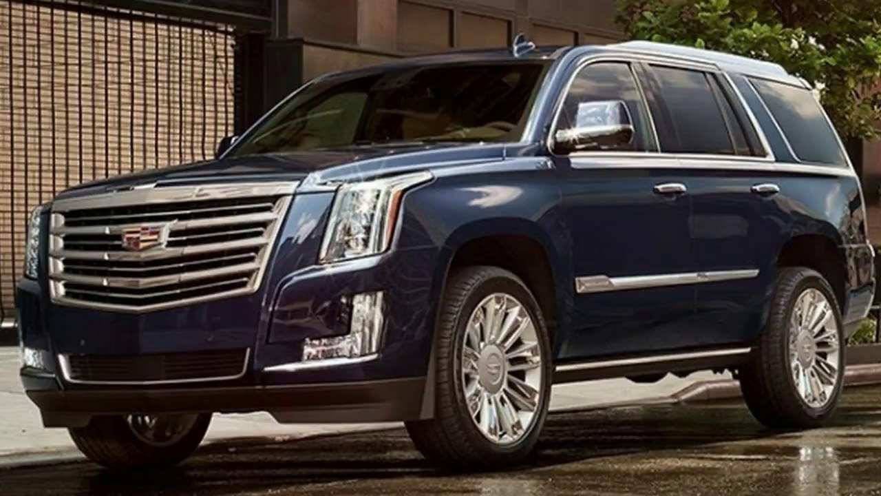 27 All New 2019 Cadillac Escalade Redesign Redesign And Review