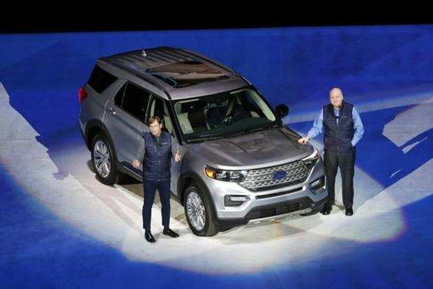 27 All New Ford Unveils The New 2020 Explorer Spesification