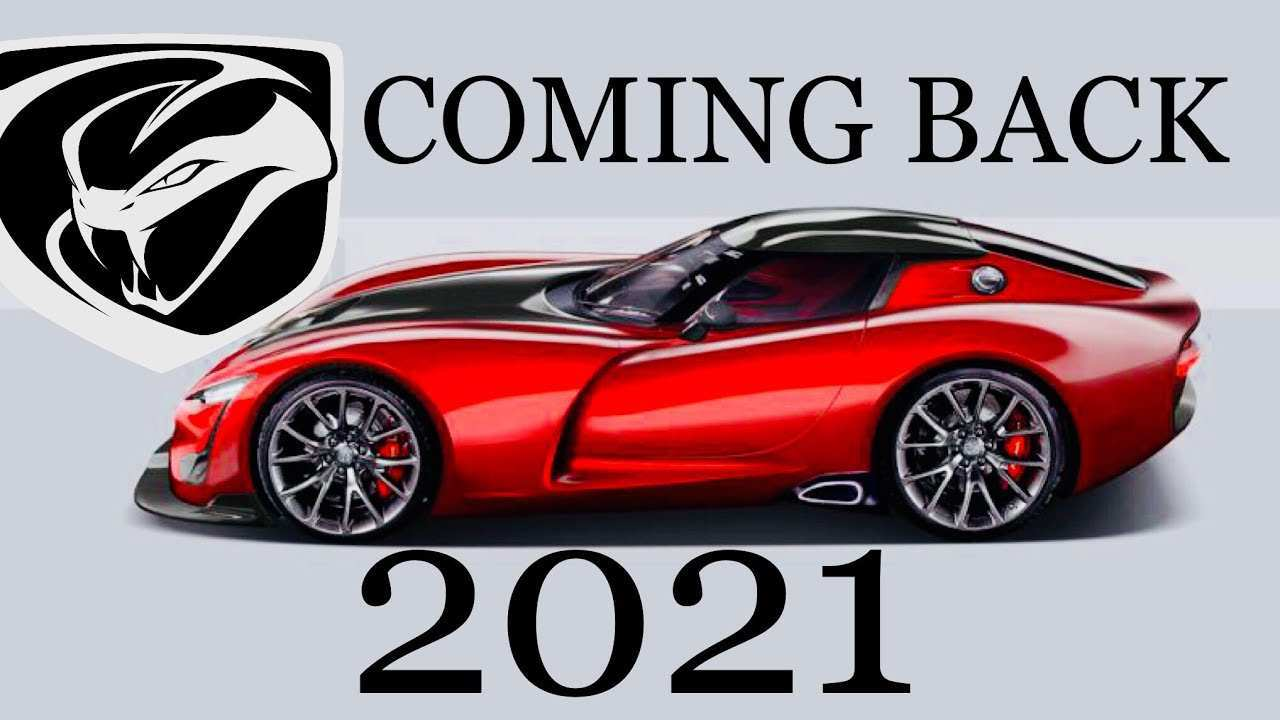 27 New New Dodge Viper 2020 Concept And Review
