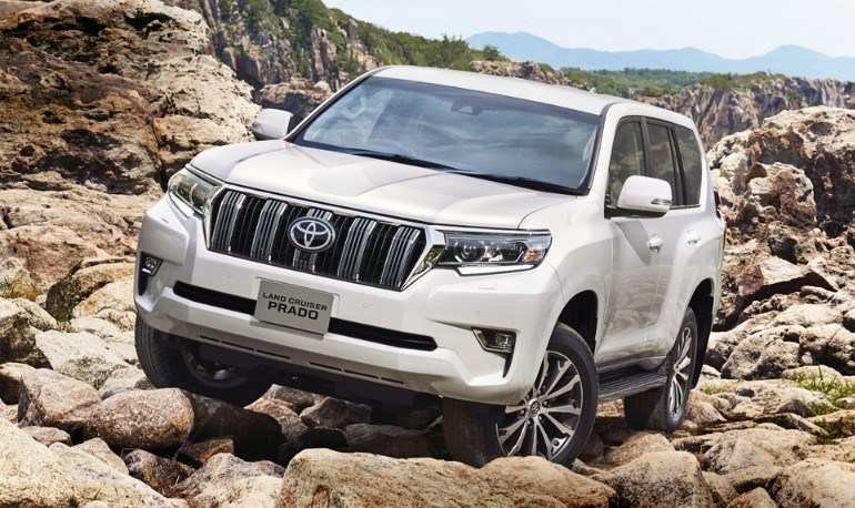 28 All New Toyota Prado 2020 Spy Shots Pictures