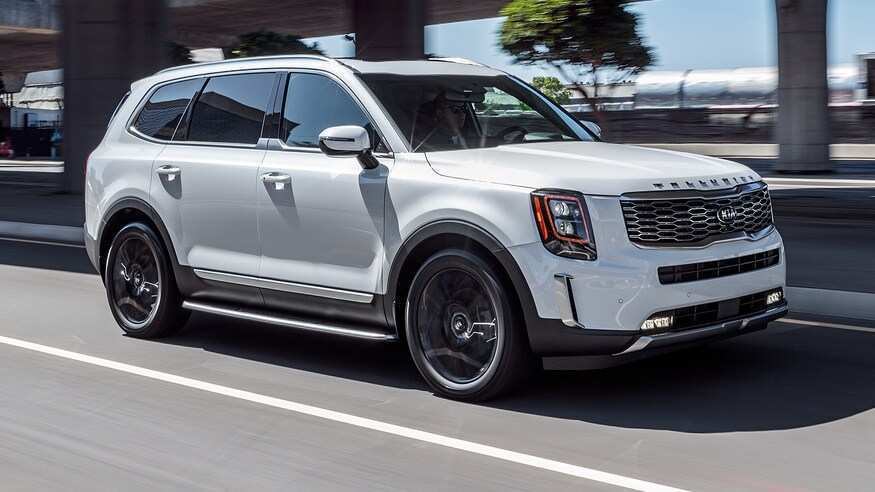 28 New 2020 Kia Telluride Release Date Spy Shoot