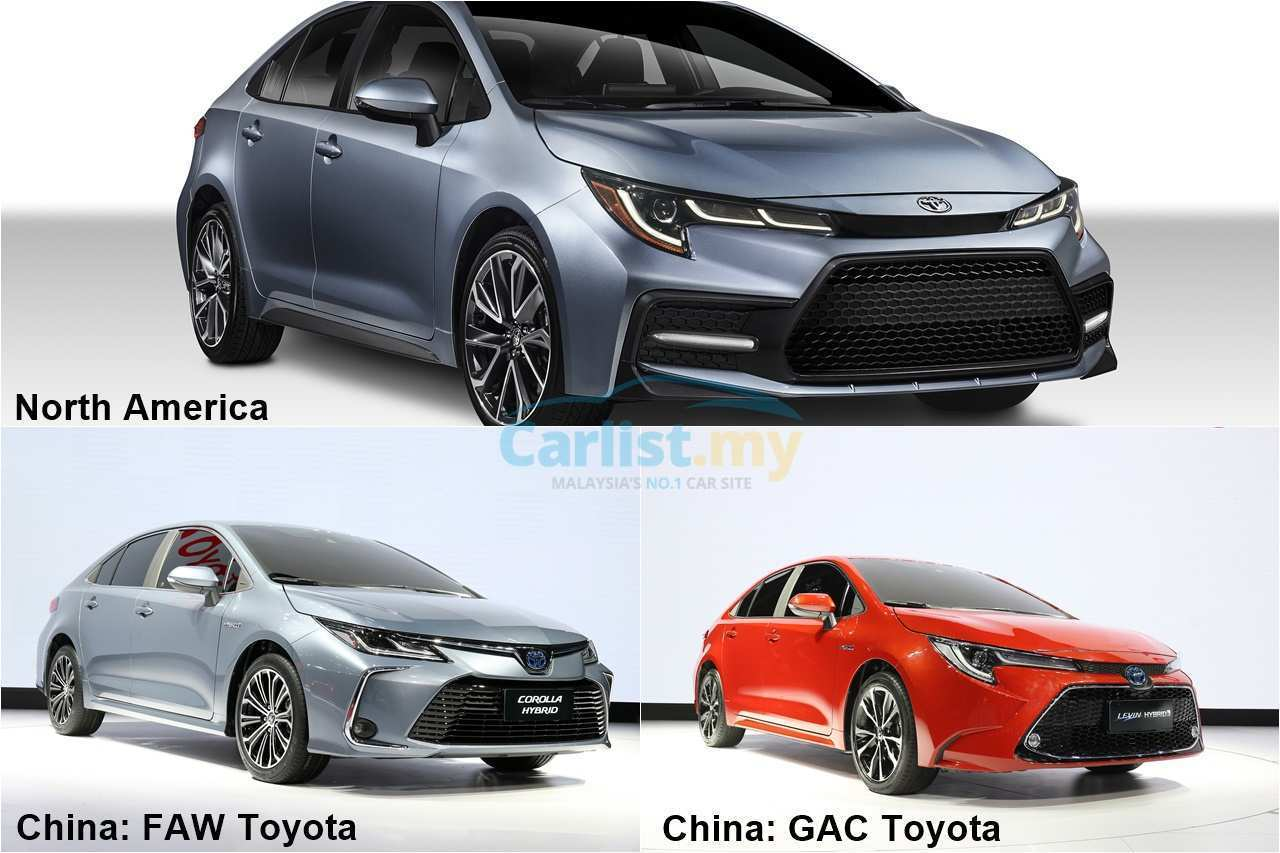 28 New Toyota Altis 2020 Thailand Review And Release Date